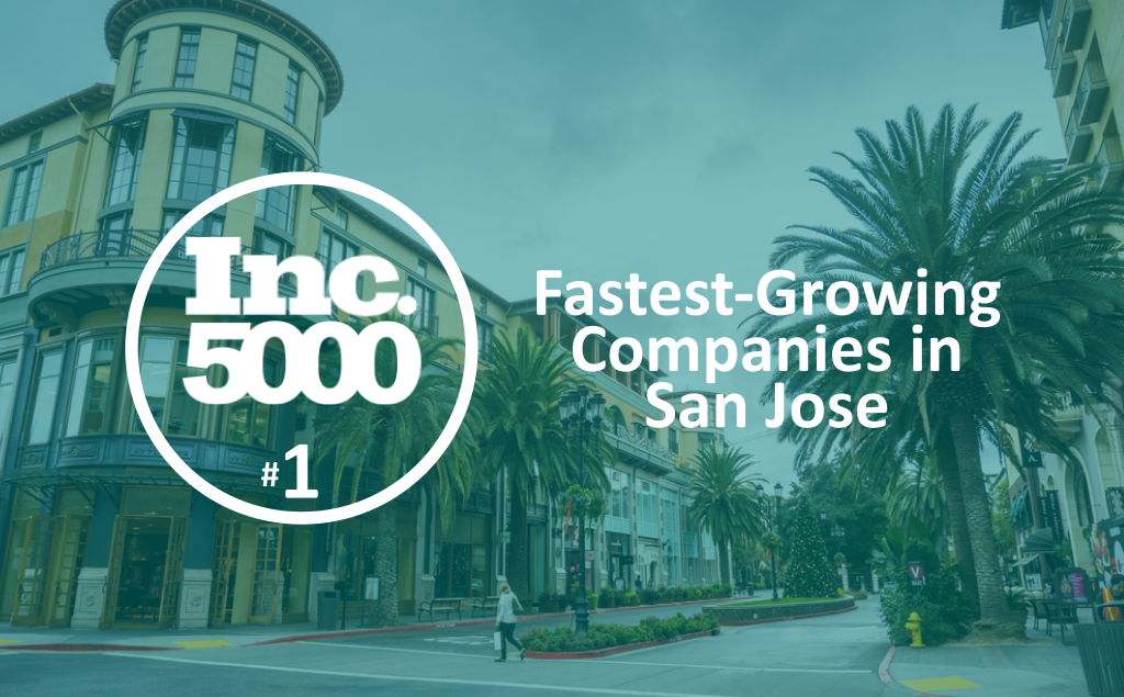 Ranked #1 by Inc. 5000